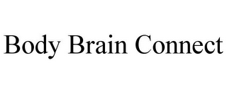 mark for BODY BRAIN CONNECT, trademark #86005465