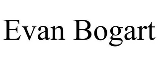 mark for EVAN BOGART, trademark #86005768