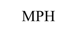 mark for MPH, trademark #86007139