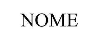 mark for NOME, trademark #86007878