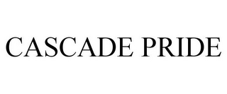 mark for CASCADE PRIDE, trademark #86008709