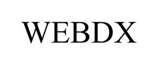 mark for WEBDX, trademark #86011093