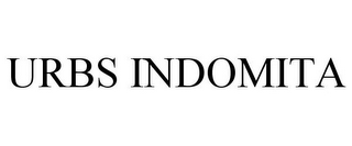 mark for URBS INDOMITA, trademark #86013700