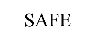 mark for SAFE, trademark #86015290