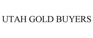 mark for UTAH GOLD BUYERS, trademark #86015436