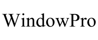mark for WINDOWPRO, trademark #86018627