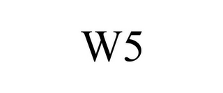 mark for W5, trademark #86019623