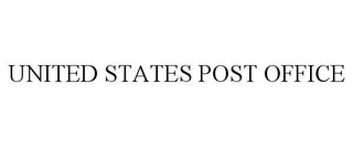 mark for UNITED STATES POST OFFICE, trademark #86023168