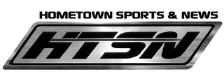 mark for HOMETOWN SPORTS & NEWS HTSN, trademark #86023833
