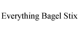 mark for EVERYTHING BAGEL STIX, trademark #86027735