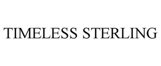 mark for TIMELESS STERLING, trademark #86031152