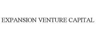 mark for EXPANSION VENTURE CAPITAL, trademark #86031680