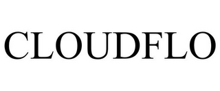 mark for CLOUDFLO, trademark #86032944