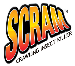mark for SCRAM CRAWLING INSECT KILLER, trademark #86034574