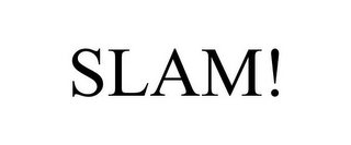 mark for SLAM!, trademark #86034936