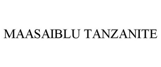 mark for MAASAIBLU TANZANITE, trademark #86035390
