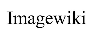 mark for IMAGEWIKI, trademark #86035860