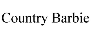 mark for COUNTRY BARBIE, trademark #86036052