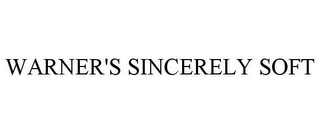 mark for WARNER'S SINCERELY SOFT, trademark #86036228