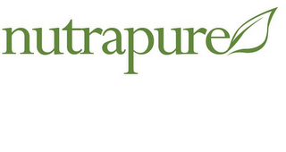 mark for NUTRAPURE, trademark #86036395
