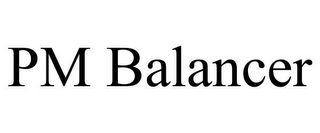mark for PM BALANCER, trademark #86038015