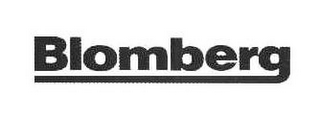 mark for BLOMBERG, trademark #86038394
