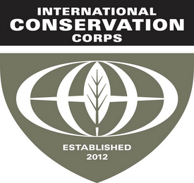 mark for INTERNATIONAL CONSERVATION CORPS ESTABLISHED 2012, trademark #86042438