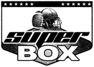 mark for SUPER BOX, trademark #86043617