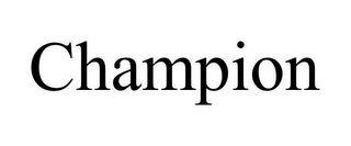 mark for CHAMPION, trademark #86043808