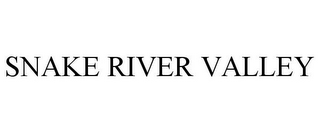 mark for SNAKE RIVER VALLEY, trademark #86045234