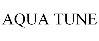 mark for AQUA TUNE, trademark #86046417