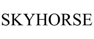mark for SKYHORSE, trademark #86048752
