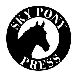 mark for SKY PONY PRESS, trademark #86048857