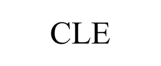mark for CLE, trademark #86049231