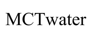 mark for MCTWATER, trademark #86050716