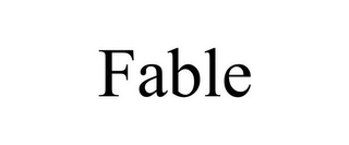 mark for FABLE, trademark #86052854
