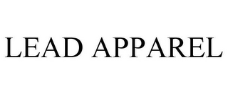 mark for LEAD APPAREL, trademark #86052938