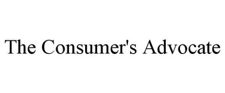 mark for THE CONSUMER'S ADVOCATE, trademark #86056142