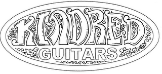mark for KINDRED GUITARS, trademark #86059680