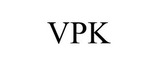 mark for VPK, trademark #86060480