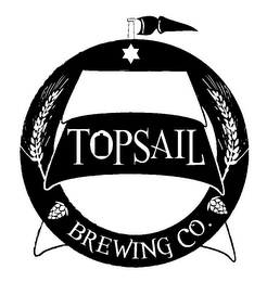 mark for TOPSAIL BREWING CO., trademark #86062380