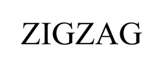 mark for ZIGZAG, trademark #86063181