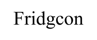 mark for FRIDGCON, trademark #86063364