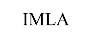 mark for IMLA, trademark #86066911