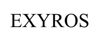 mark for EXYROS, trademark #86066924