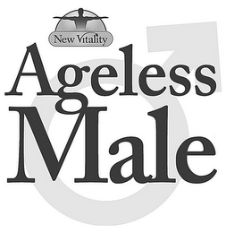 mark for NEW VITALITY AGELESS MALE, trademark #86067218