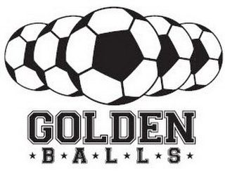 mark for GOLDEN BALLS, trademark #86071026