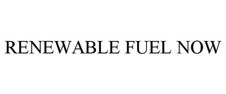 mark for RENEWABLE FUEL NOW, trademark #86072214