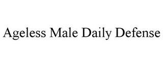 mark for AGELESS MALE DAILY DEFENSE, trademark #86075008