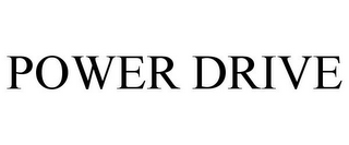 mark for POWER DRIVE, trademark #86078236